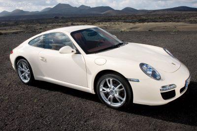 Porsche 911 carrera 997 (2004-2012) alle modellen