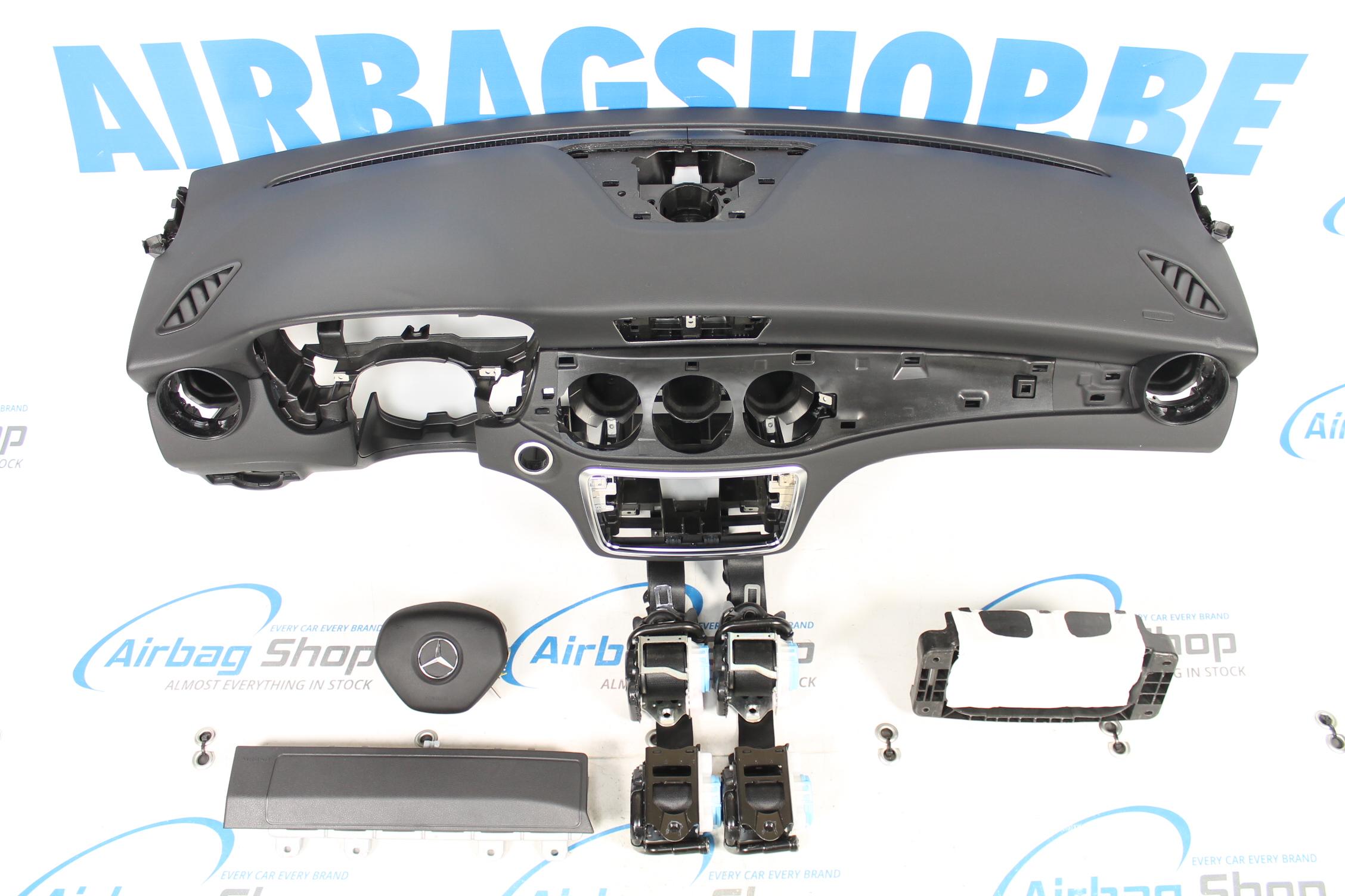 airbag set dashboard mercedes cla klasse 2013. Black Bedroom Furniture Sets. Home Design Ideas