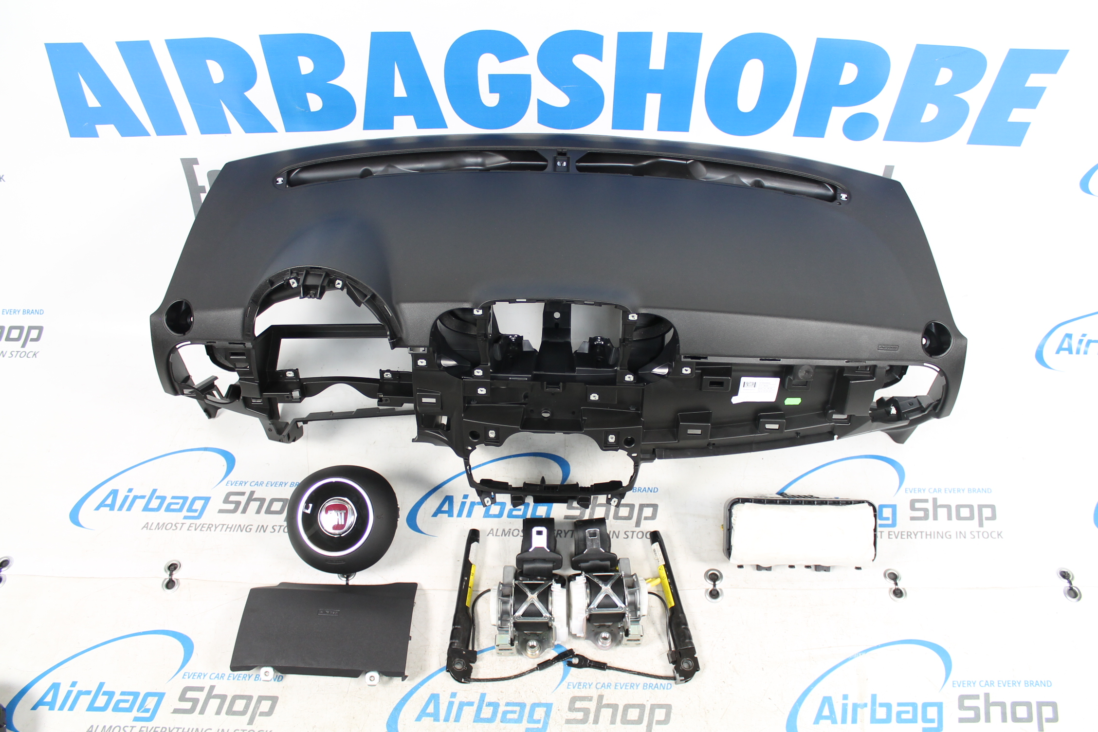 airbag set dashboard black fiat 500 2016 airbag. Black Bedroom Furniture Sets. Home Design Ideas