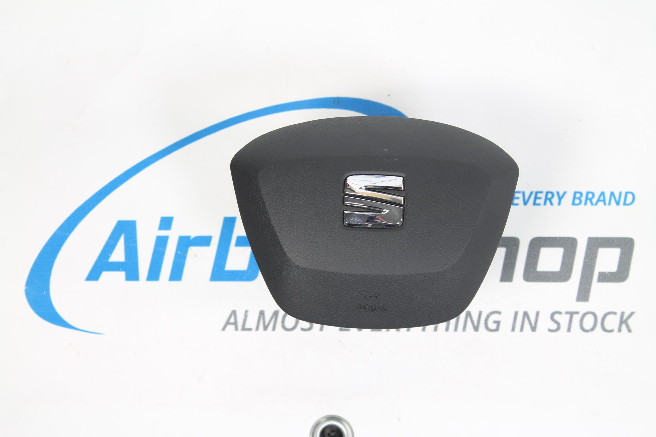 Airbag Set Dashboard Grey Seat Ibiza 6j Facelift 2015
