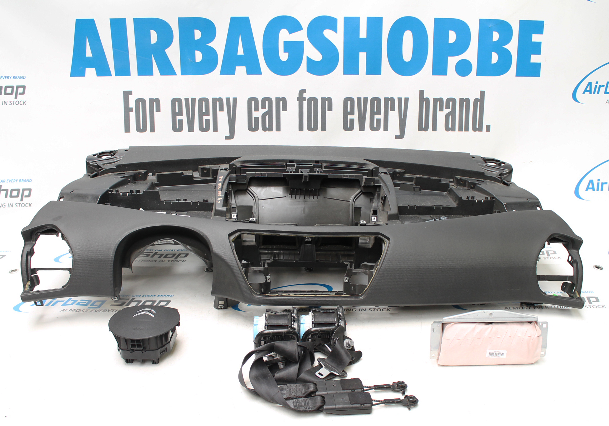 Airbag set Dashboard Citroen C4 Picasso (2006-2013)
