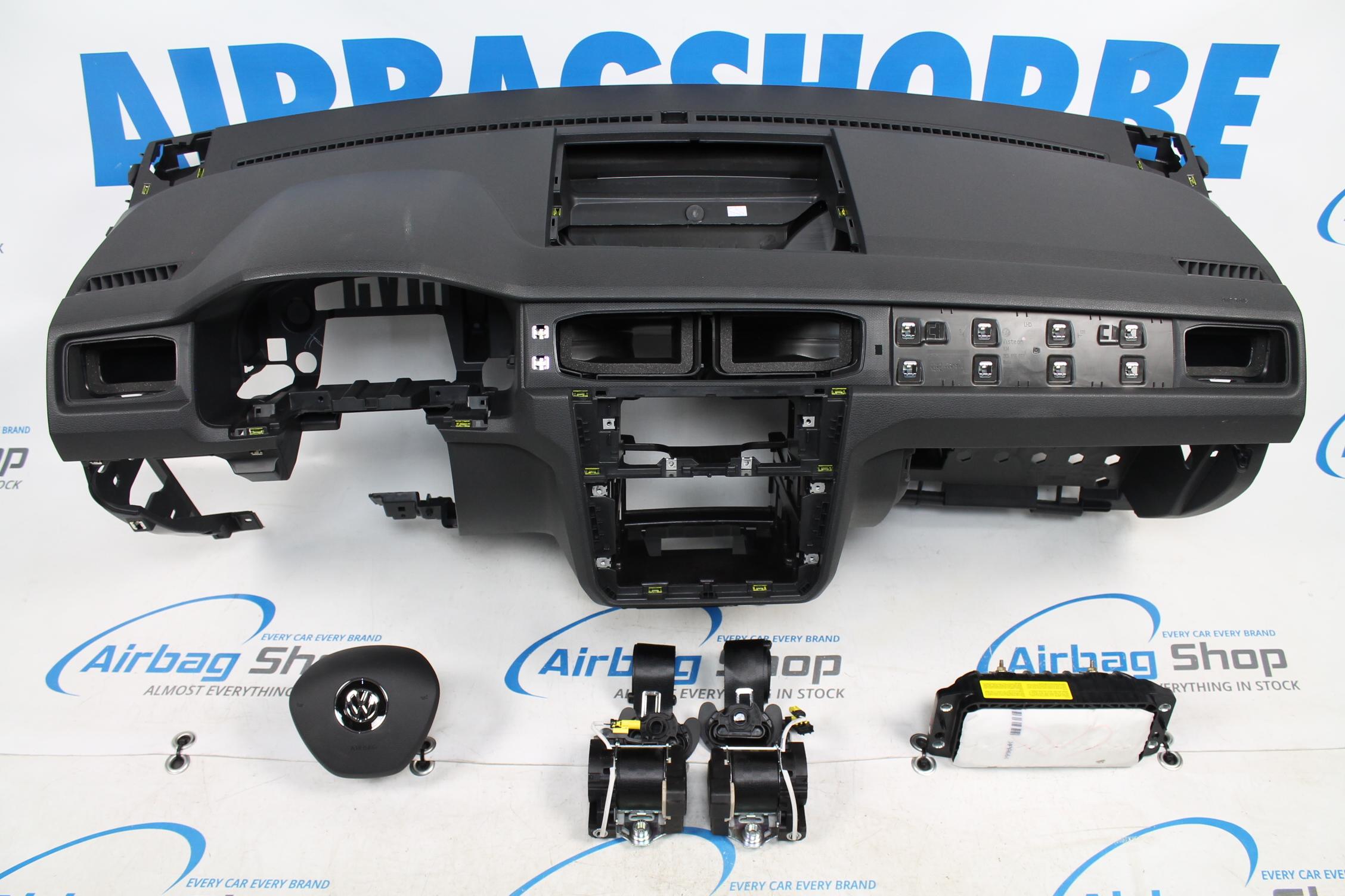airbag set dashboard volkswagen caddy 2015. Black Bedroom Furniture Sets. Home Design Ideas