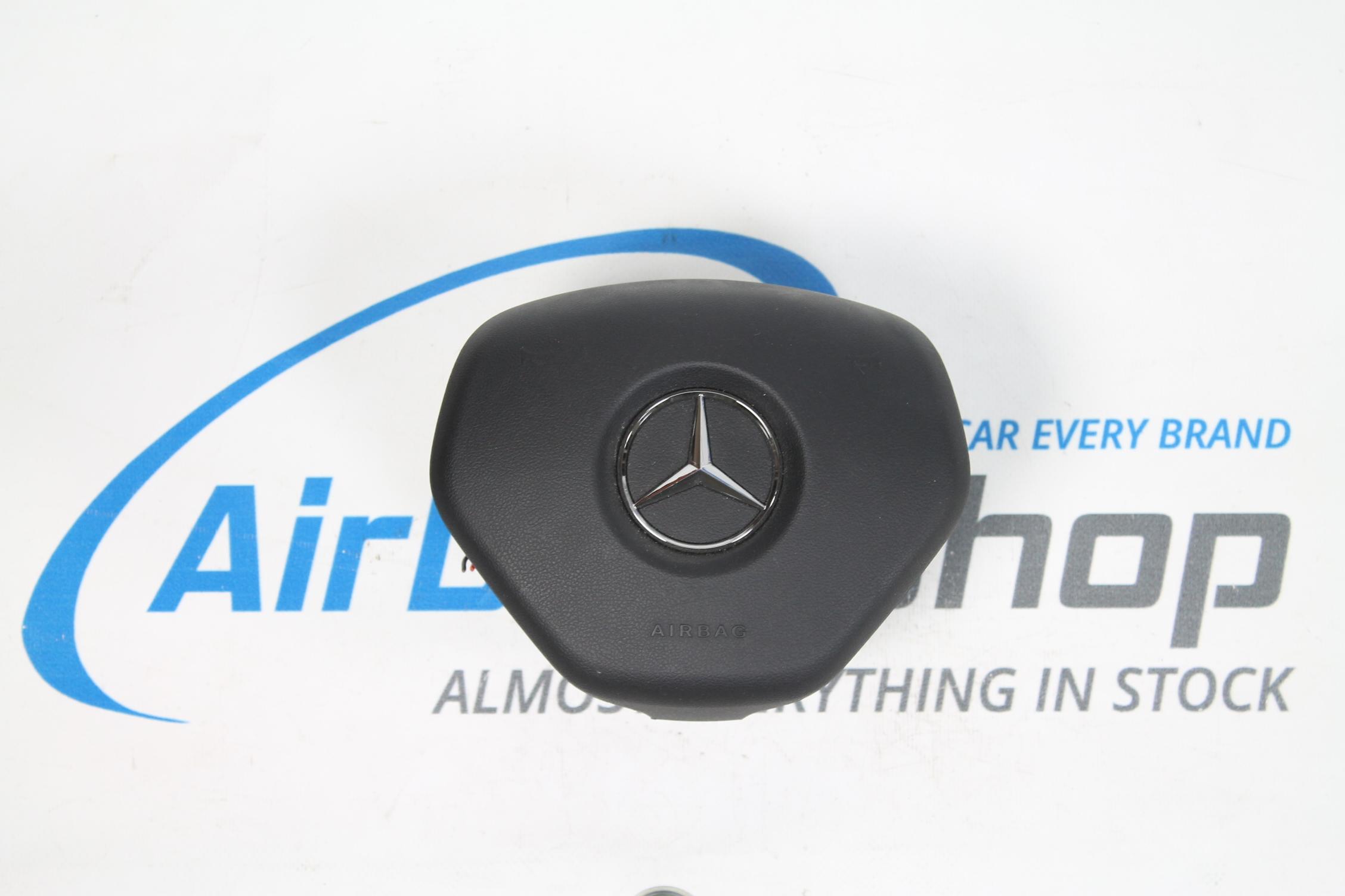 airbag set armaturenbrett schwarz mercedes a klasse w176 2012 airbag shop. Black Bedroom Furniture Sets. Home Design Ideas
