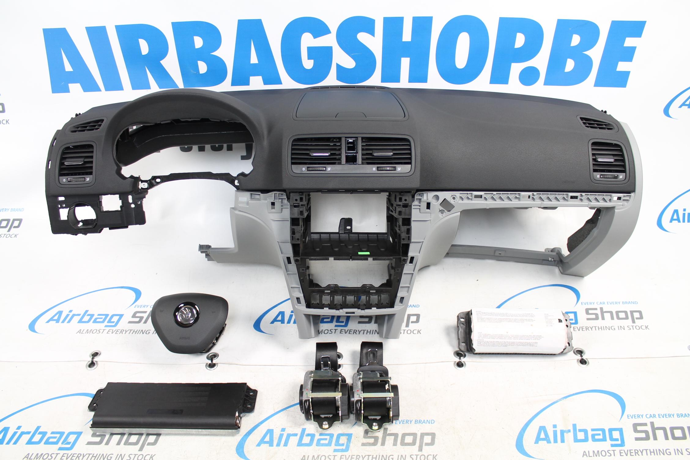 airbag set dashboard facelift skoda yeti 2009. Black Bedroom Furniture Sets. Home Design Ideas