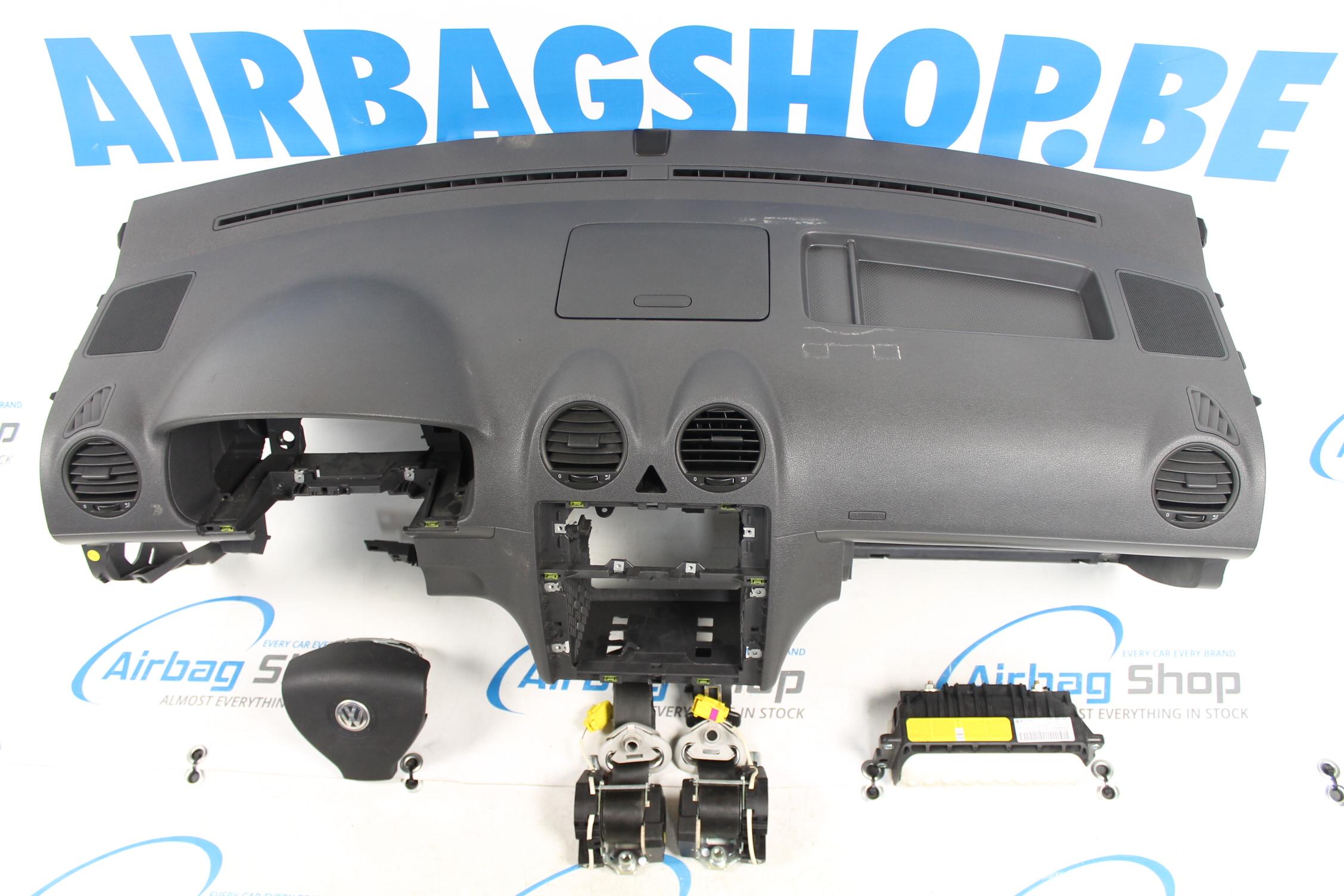 airbag kit tableau de bord volkswagen caddy 2010 2015. Black Bedroom Furniture Sets. Home Design Ideas