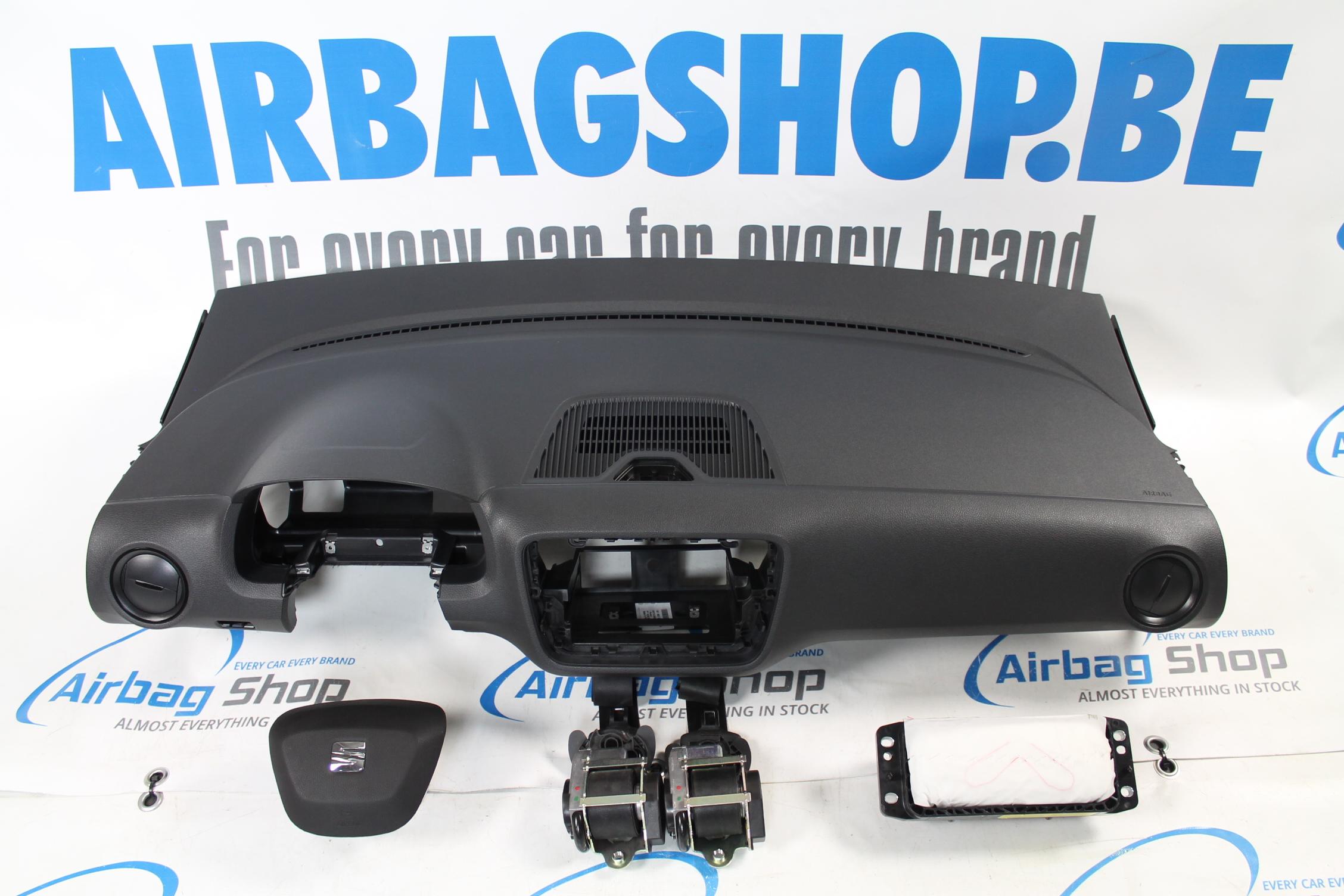 airbag kit cruscotto nero seat mii facelift 2016 airbag shop. Black Bedroom Furniture Sets. Home Design Ideas
