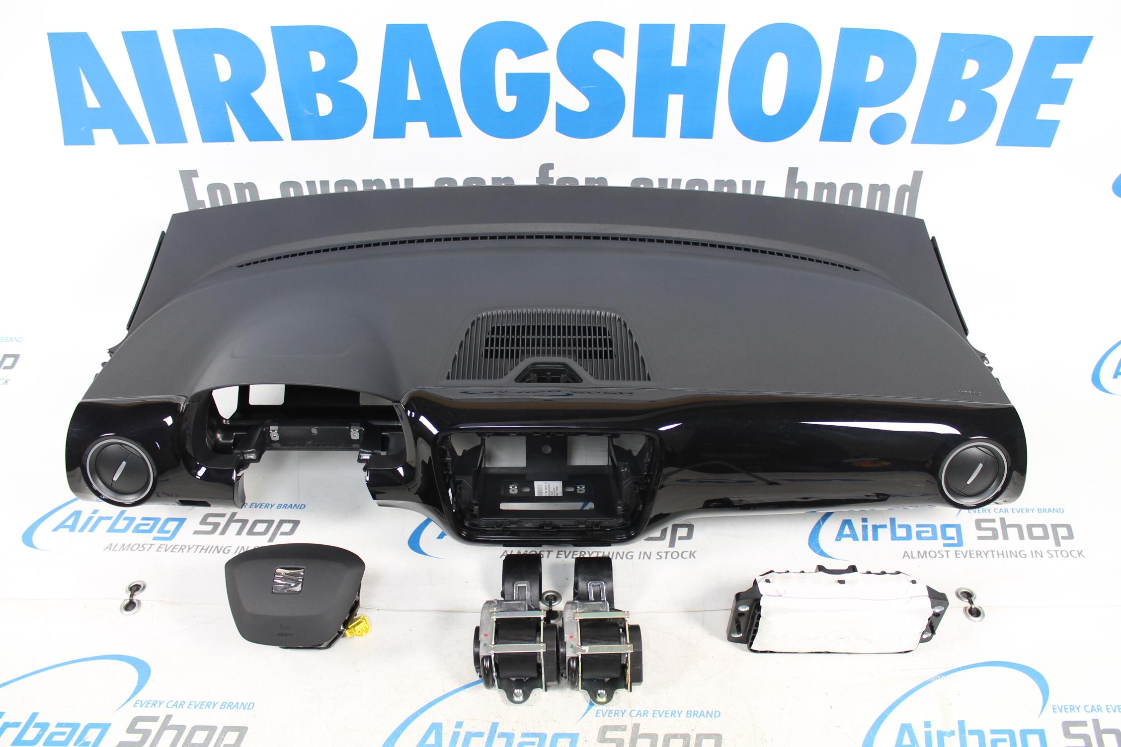 airbag set armaturenbrett seat mii facelift 2016 airbag shop. Black Bedroom Furniture Sets. Home Design Ideas